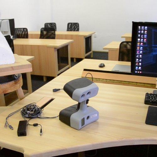 Skenování na specializované pracovišti– Učebna ICT a PC grafiky