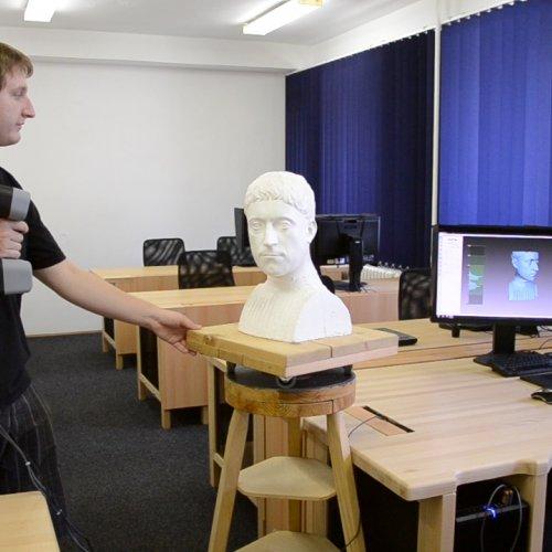 Fáze snímání 3D skenu