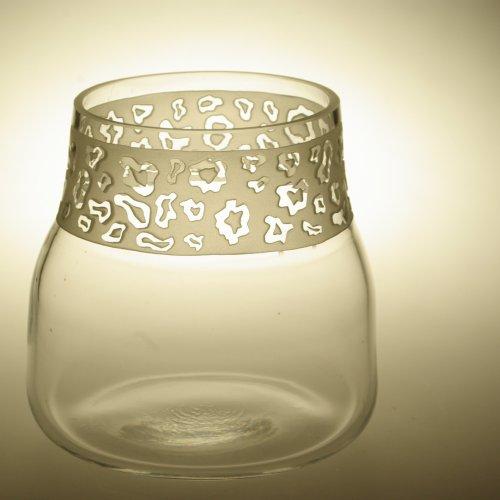 Váza– ANNA PALÁTOVÁ, pískované sklo