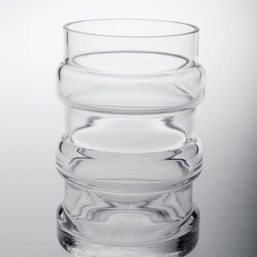 SKLENICE - Daniela Moravcová, hutně foukané sklo, 3 dcl, pod vedením MgA. Aleše Jírovce
