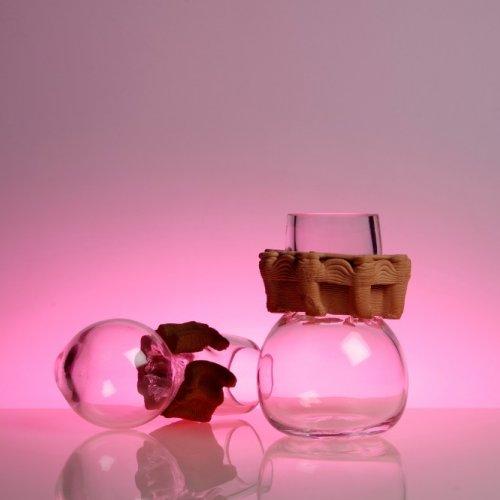 MOŽNOSTI 3D TISKU – workshop 3D tisku, keramika a foukané sklo, 8 x 8 x 20 cm, pod vedením MgA. Michaela Franče