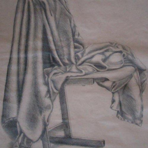 Zátiší – NIKOLA PALUSKOVÁ, kresba tužkou