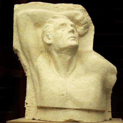 Bez názvu - ŽANETA ELSNEROVÁ, vápenec vrač, 58 x 45 x 25 cm