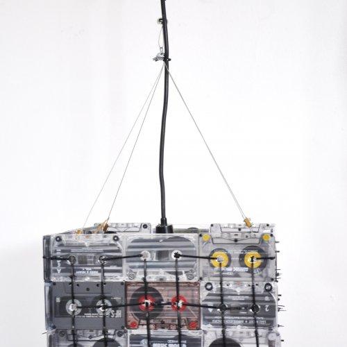 SVÍTIDLO - Tereza Bejblíková, pvc, 40 x 40cm, pod vedením Ing. Lady Slavíčkové a MgA. Andrey Vokřálové