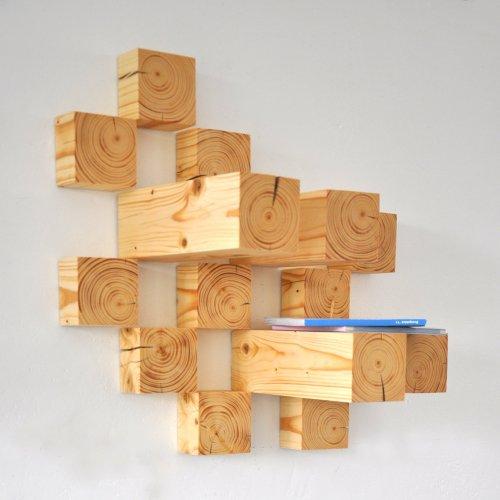 VĚŠÁK - Tereza Němcová, dřevo, 60 x 60 cm, pod vedením MgA. Andrey Vokřálové
