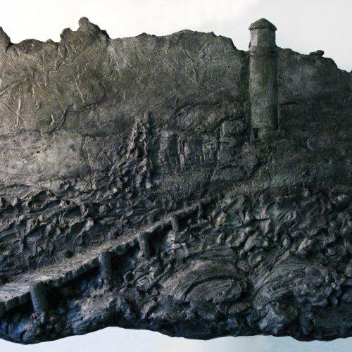 NADĚJE - Nicolas Vrána, patinovaný beton, pod vedením MgA. Marka Škubala