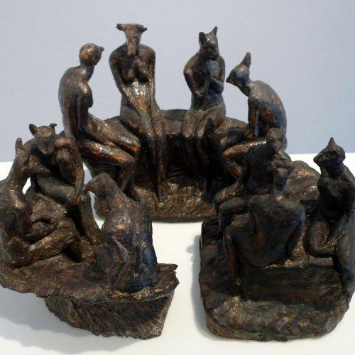 LES DÉESSES - BOHYNĚ – akad. soch. Sylvie Choisnel, keramika