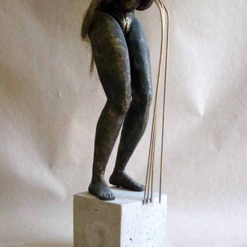 MES SOEURS - MÉ SESTRY – akad. soch. Sylvie Choisnel, cement