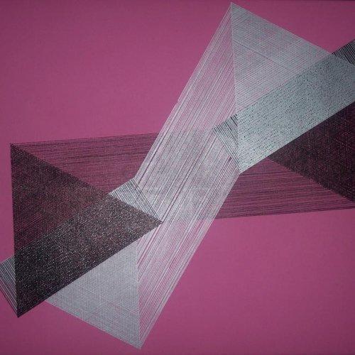 SATELIT - MgA. Aleš Jírovec, akryl na plátně, 80 x 60 cm