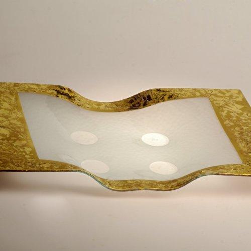 MÍSA – Miloš Jírovec, lehané, klihované, zlacené sklo, 36 x 28 cm