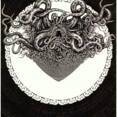 ANIMAL BODHISATTVA X – MgA. Marek Škubal, kresba fixem, 100x70 cm