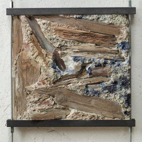 DŮM I - Petra Šťastná, stavební materiály, 62 x 62 cm