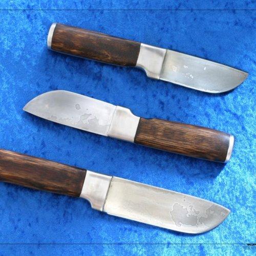 Damascenské nože – akad. soch. JAN TOMEŠEK, 16 – 20 cm