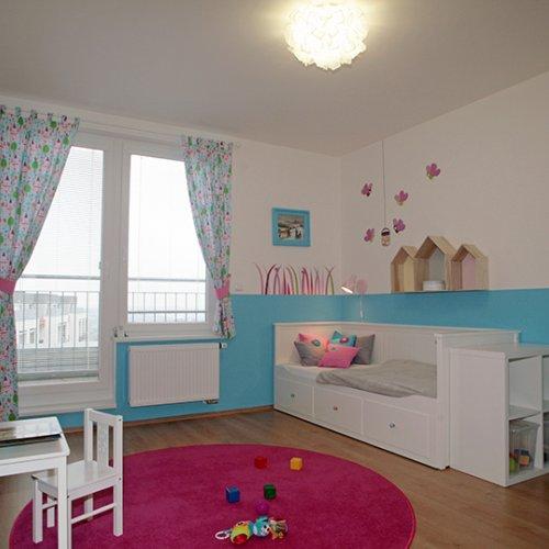 Dětský pokoj, návrh a realizace, MgA. Andrea Vokřálová
