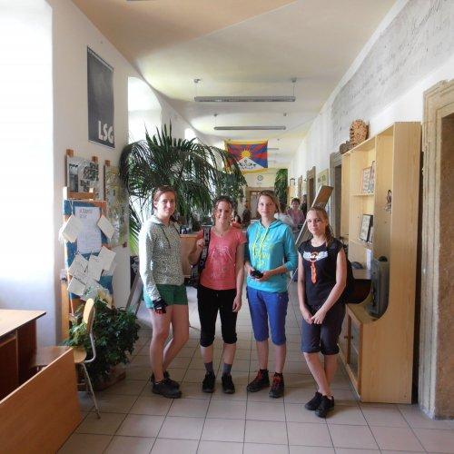 Návštěva partnerského gymnázia v Letohradě