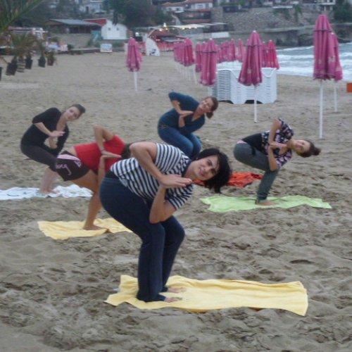 Jóga na pláži podruhé