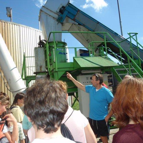 Závidkovice - pomalu se noříme do problematiky technologie bioplynových stanic.