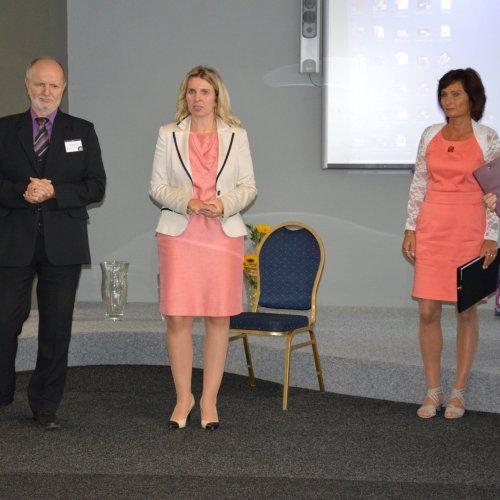 Slavnostní zahájení v podání ředitele školy a radní pro školství Kraje Vysočina