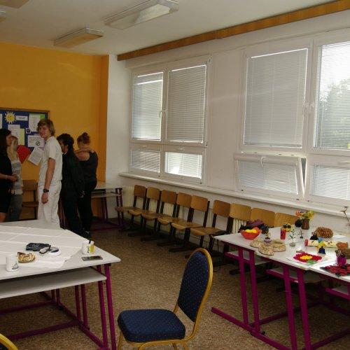 Prezentace oboru sociální činnost v jedné z učeben