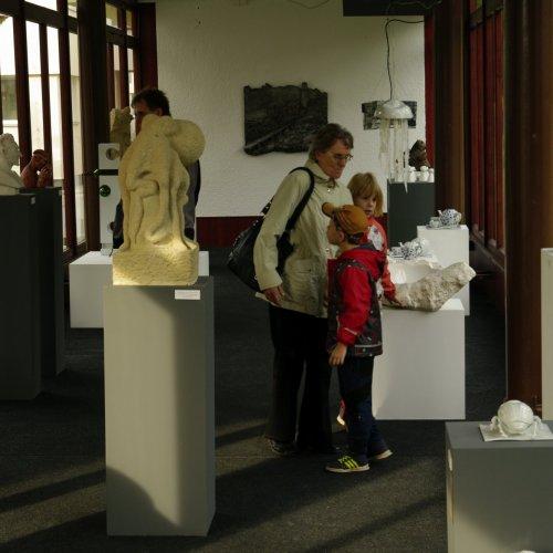 Prohlídka jedné ze školních galerií