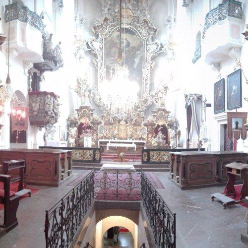 Celkový pohled na interiér