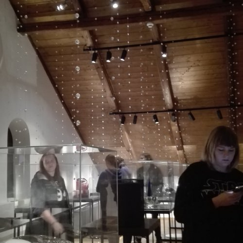 Expozice rytého skla