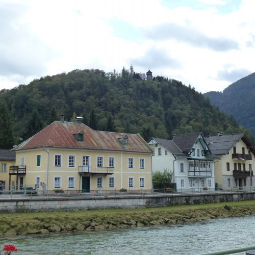 Bad Ischl leží na břehu řeky