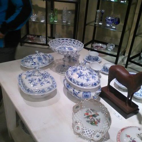 Výstava míšeňkého porcelánu