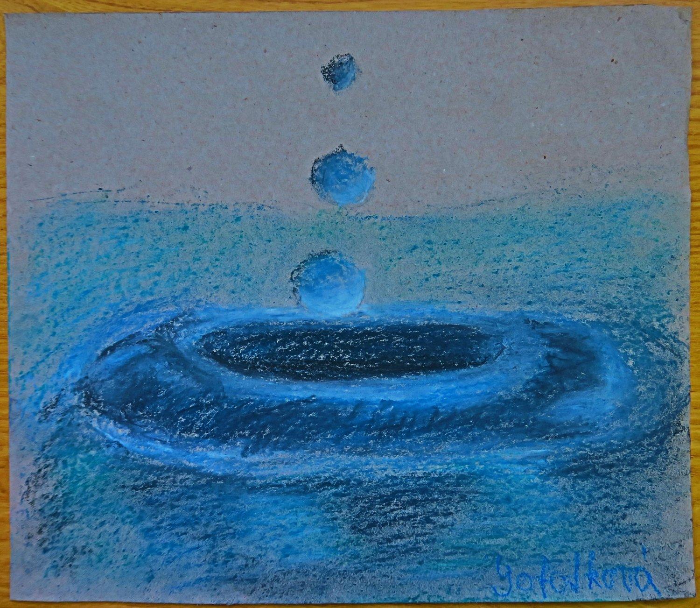 Kompozice na téma Voda– Hana Sobotková