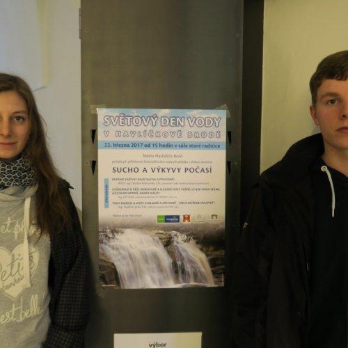 Studenti navštěvující seminář zbiologie měli možnost zajet do Havl. Brodu a zúčastnit se přednášky Sucho a výkyvy počasí.