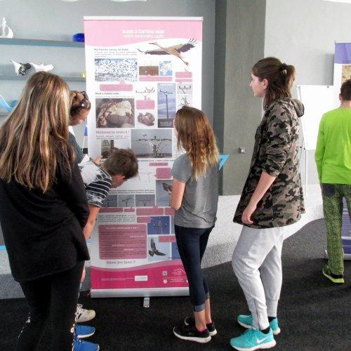 Výstava se stala nečekaným výborným doplňkem našeho školního projektu STOPPA.