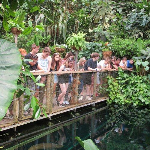 """Naši studenti pozorují život v tropickém """"jezeře"""""""