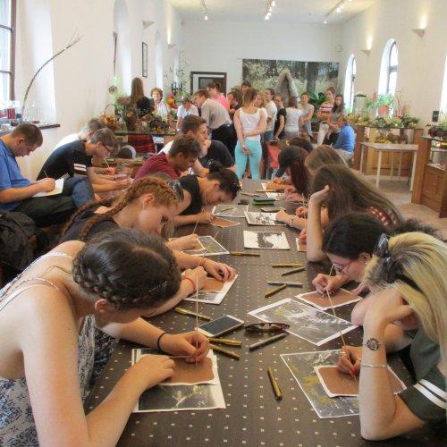 Troška tvůrčího odpočinku v eko-ateliéru u Trojského zámku