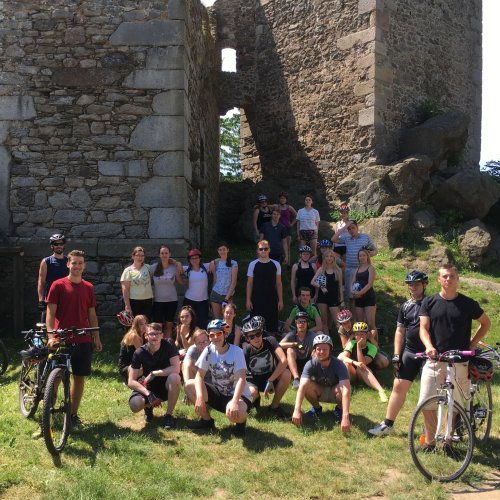 Navštívili jsme i hrad Lipnici