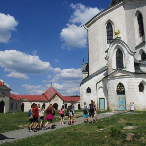 Magické místo s magickou stavbou - Poutní kostel Sv. Jana Nepomuckého na Zelené hoře nám otevřel svou bránu.
