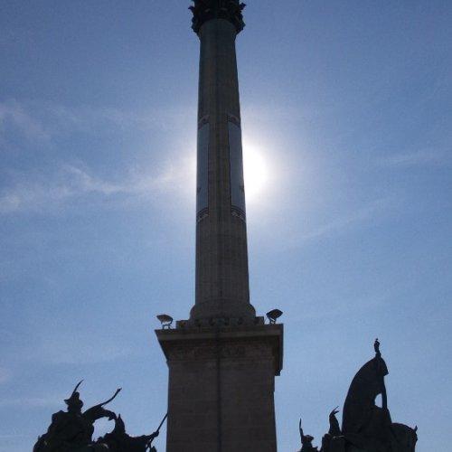 Budapešť Náměstí hrdinů