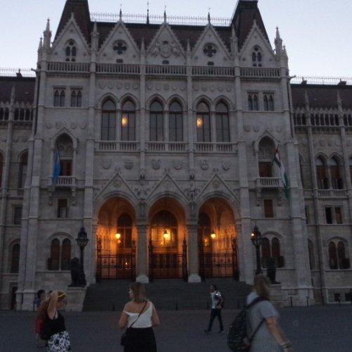 Budapešť Parlament