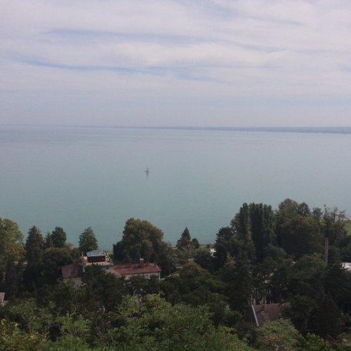 Tihany pohled na Balaton
