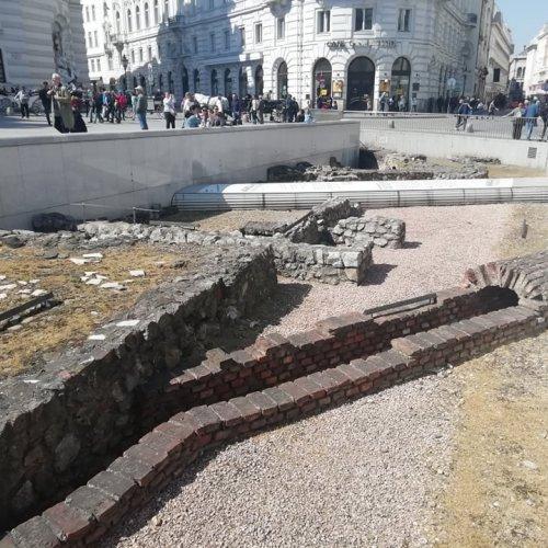Vídeň vykopávky