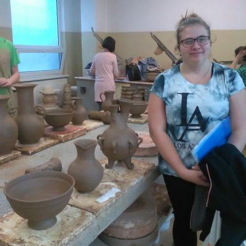 Hlavní soutěž Anna Vávrová se svými výrobky