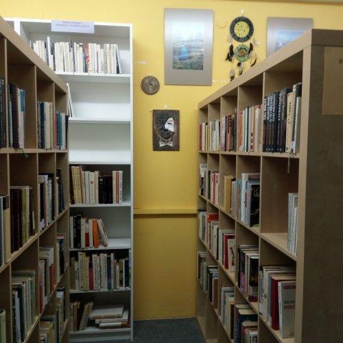 Původní prostor, dnes oddělení zahraniční literatury