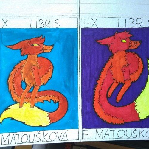 Eva Matoušková - Ex libris