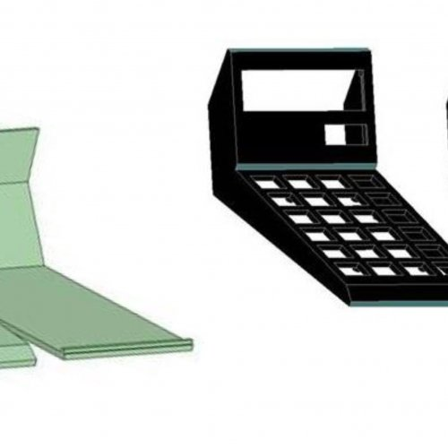 komponenty kalkulačky SPEEDER v 3D programu