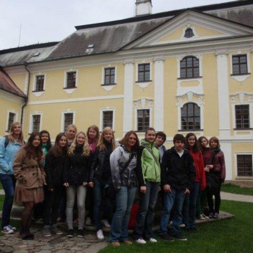 Zámek ve Žďáru nad Sázavou, který byl původně klášterem. Dnes je v jedné jeho části Muzeum knihy.
