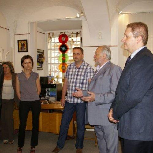 Vernisáž společné výstavy za účasti Generálního konzula ČR ve Lvově Mgr. Davida Pavlity