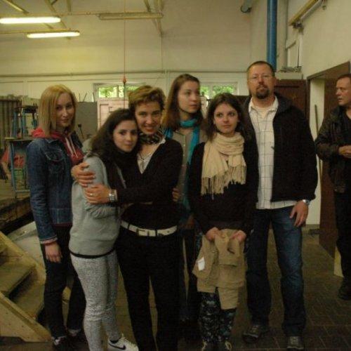 Exkurze po naší akademii – návštěva školní huti