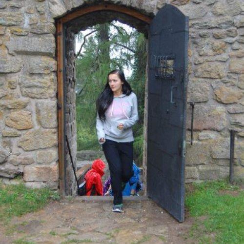 Kdo rozluštil heslo, mohl vstoupit do hradu.