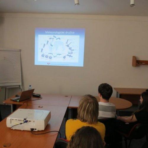 Prezentace problematiky meteorologických družic