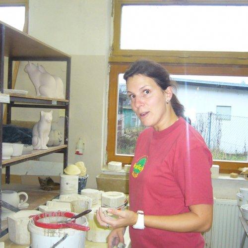 Odlévání z kalu do sádrových forem