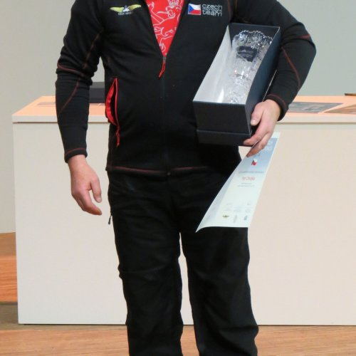 Nejlepší letecký sportovec roku 2014 Ing. Petr Chvojka